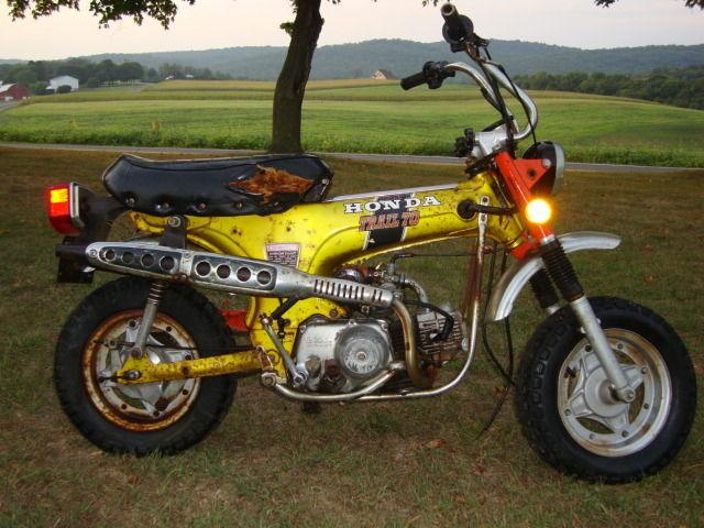 vintage  honda cth minibike motorcycle  parts  restore cthk ct