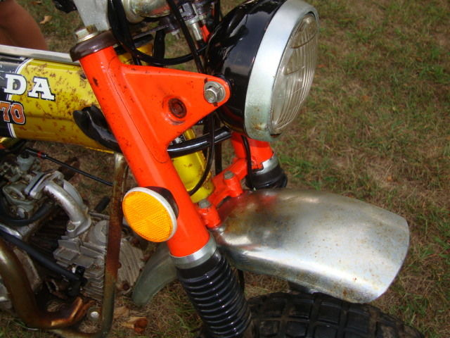 Vintage 1972 honda ct70h minibike motorcycle for parts or restore honda ct 1972 technical specifications sciox Image collections