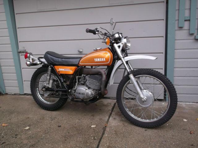 Vintage 1974 yamaha dt250 enduro dt 250 for Yamaha dt 250 for sale