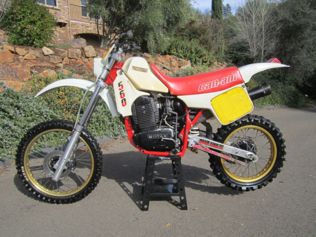 Vintage Can Am Sonic Ultra Rare Enduro Motocross Motorcycle Dirt Bike Ahrma on Vintage Dirt Stock Cars