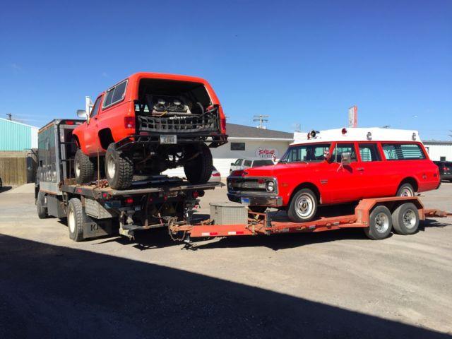 Volvo Tilt cab Custom sleeper/hot shot Truck