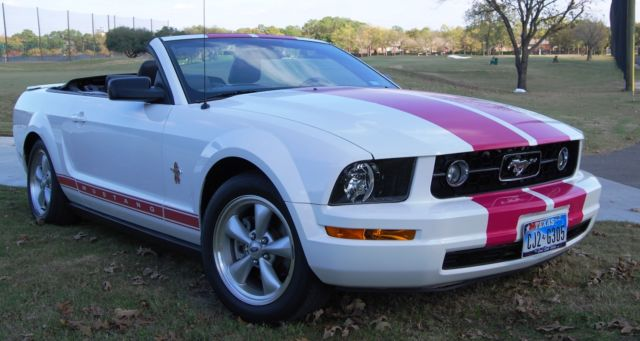 2008 ford mustang warriors in pink for sale