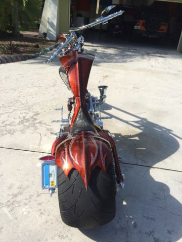 Weston Chopper 360mm Rear Dragon Springer Front