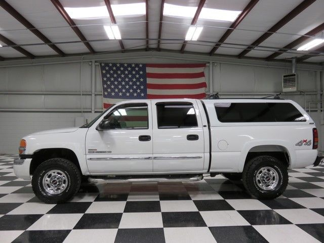 White Crew Cab Duramax Diesel Allison Warranty Cloth