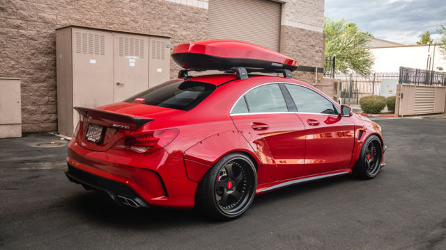 Widebody Mercedes Cla 45 Amg Lots Of Upgrades Must See