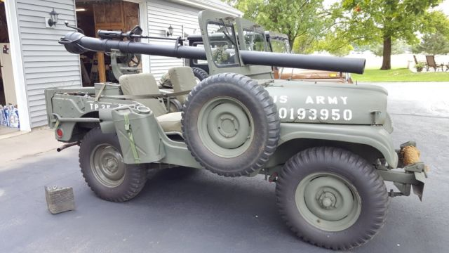 Willys Military Jeep M38a1 M38a1c 1952 With 106mm