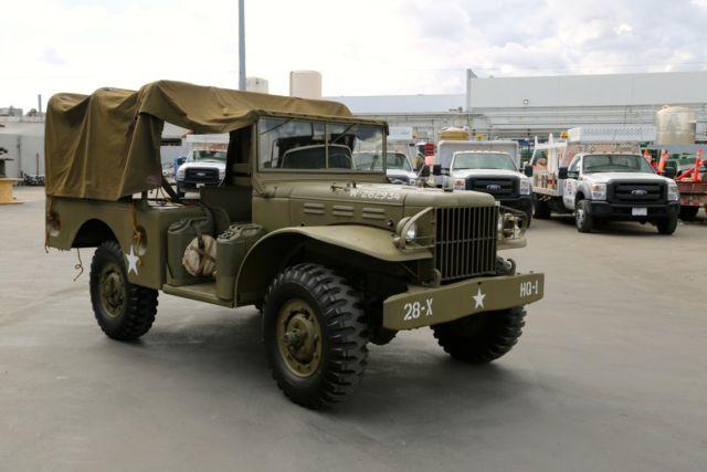 World War 2 1942 Dodge WC-51