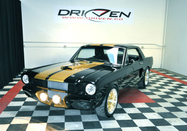 65 Mustang Hot Rod In So Cal Gorgeous Black And Gold Ready Right Now Video