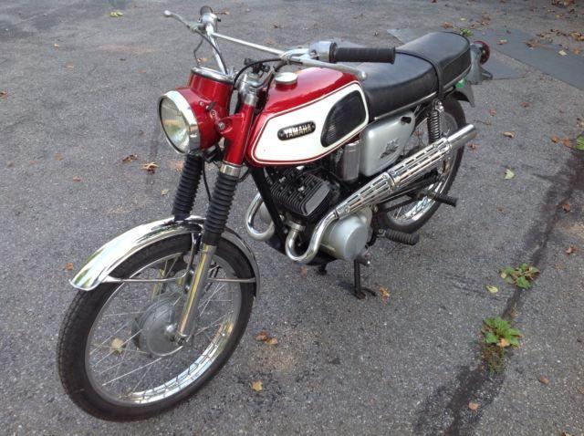 Yamaha 125 twin scrambler 1968
