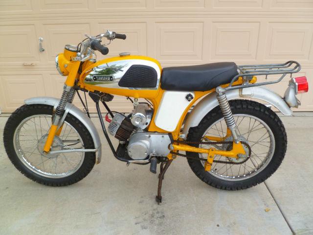 Yamaha 1967 yl2 c 100cc trailmaster for 100cc yamaha dirt bike