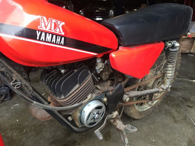 Yamaha MX100 Vintage Barn Find 100cc Motorcycle Dirt Bike