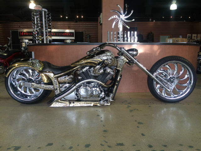 Yamaha V Star 1300 Complete Custom Build By BMS Choppers