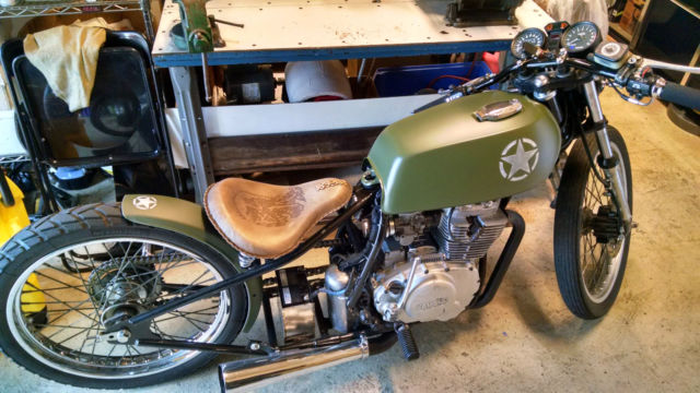 yamaha xs400 bobber board tracker. Black Bedroom Furniture Sets. Home Design Ideas